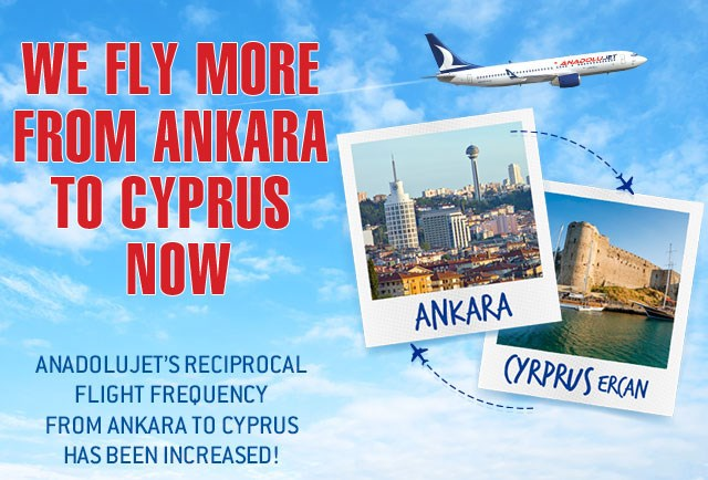 We are flying to Cyprus now more !