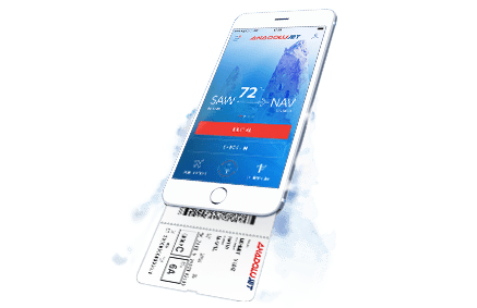 AnadoluJet mobile application renewed