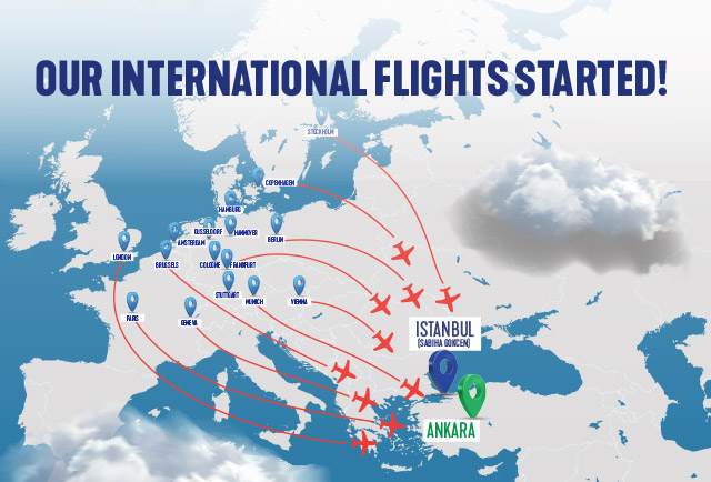 Our International Flights Have Started!