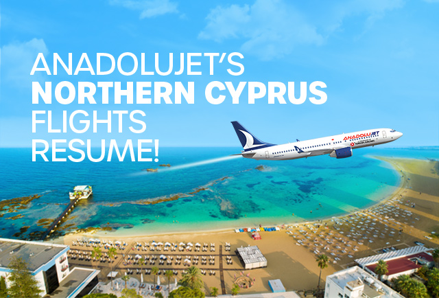 Our Northern Cyprus Flights Resume!