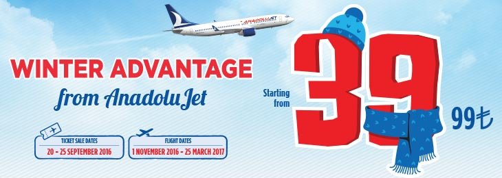 Winter Opportunity from AnadoluJet