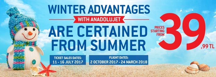 Great winter campaign from AnadoluJet !