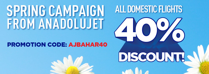 Spring Campaign From AnadoluJet