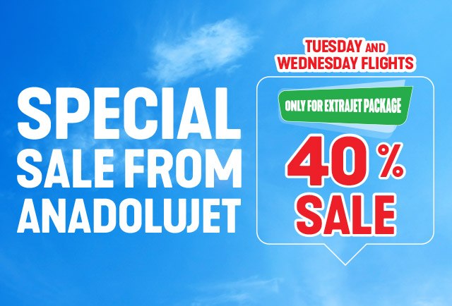 Special Sale From AnadoluJet