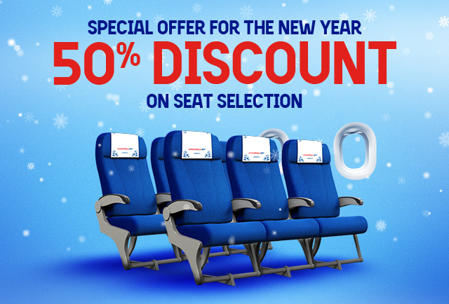 50 % Discounted Seat Selection!