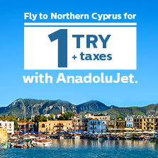 Northern Cyprus Flights At 1 TRY Excluding Taxes
