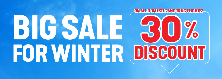 Big Sale For Winter!
