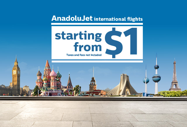 International Flights Launch Campaign From AnadoluJet