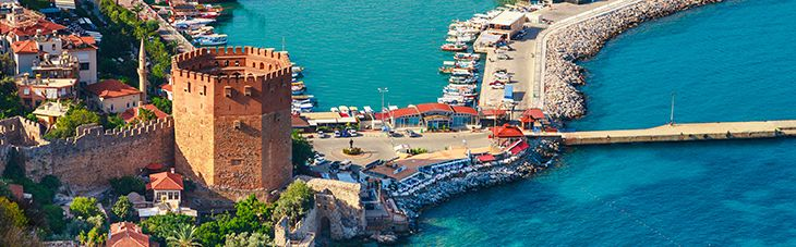 Book Alanya Flight Ticket