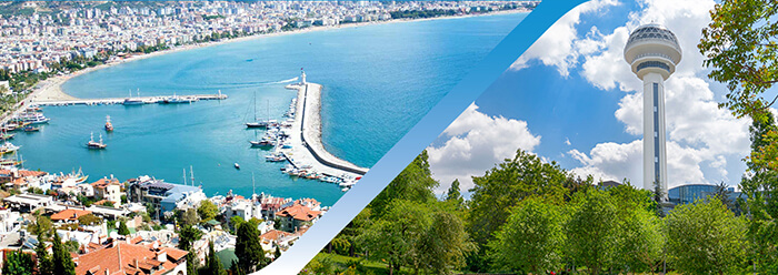 Book Alanya Ankara Flight Ticket