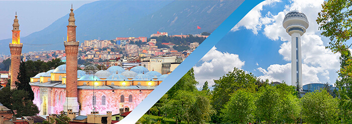 Book Bursa Ankara Flight Ticket