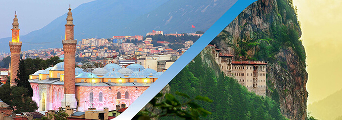 Book Bursa Trabzon Flight Ticket