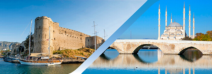 Book Northern Cyprus Adana Flight Ticket