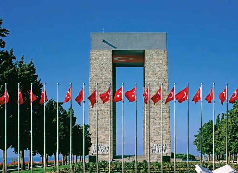 The Address Of Honor And Victory: Çanakkale